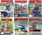 Airboating Magazine back issue set 2009, 2010, 2011, 2012, 2013, 2014