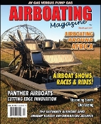 Airboating Magazine, airboat engine, Hurricane Sandy, Lake Superior, Diamondback, python