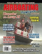 Airboating Magazine, polymere, rescue airboat, survival training, racing, alligator hunt, bowfishing, scalloping