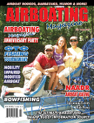 July August 2015 Airboating Magzine, Airboat, Racing, boat show, alligator hunt, bowfishing, australia, rescue