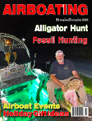 November December 2020 Airboat events, alligator hunting